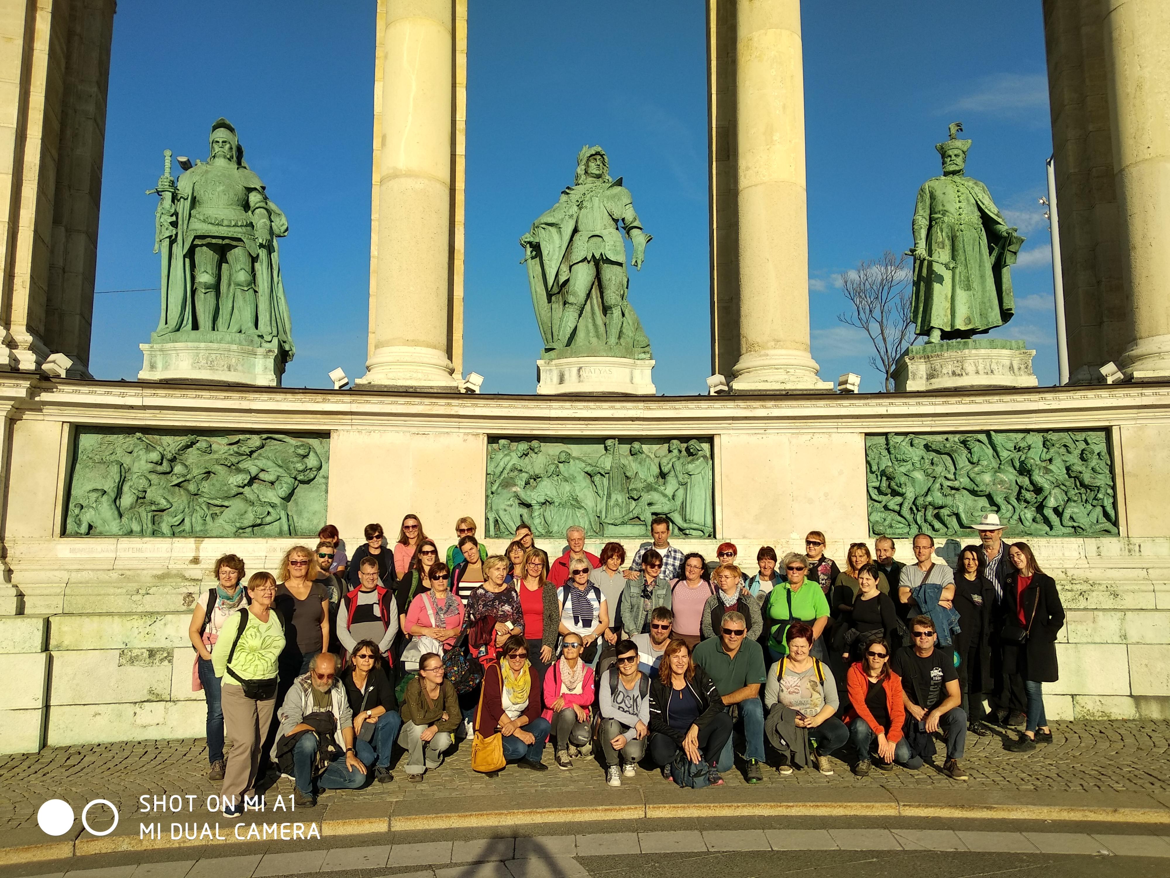 Strokovna ekskurzija Društva bibliotekarjev gorenjske 2019 – Budimpešta